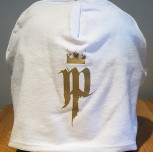 Czapka JP korona biała/złoty