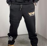 """Spodie dresowe DM """"TCM"""" czarne"""