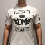 "T-shirt DM ""Korona"" biały"