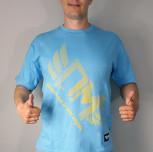 """T-shirt DM """"Mistrzostwo"""" niebieski"""