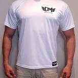 "T-shirt DM ""Polirash"" biały męski"