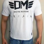 "T-shirt DM ""TCM2018"" biały"