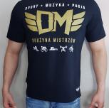 """T-shirt DM """"Moc Motywacji"""" czarny"""