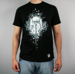 "T-shirt ""Gryfy Nowe"" czarny [REG]"