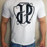 "T-shirt JP ""JP2017"" biały"