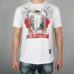 """T-shirt """"Jestem Patriotą II"""" biały(FIT)"""